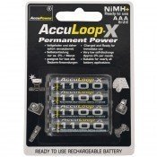 AccuLoop-X Permanent Power AAA/Micro 1100mAh