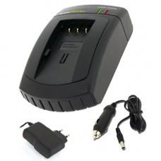 AccuPower Ladegerät passend für Sanyo DB-L20, Xacti DMX-C1