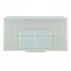 AccuPower AccuSafe storage box for 2x 18650 or 4x CR123 cells