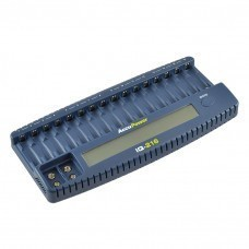 AccuPower 16-Slot Charger IQ216 for AA/Mignon AAA/Micro Ni-Cd/Ni-MH