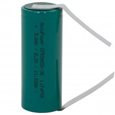 AccuPower LiFePO4 26650 3,2V 3600mAh with solder tag u-shaped